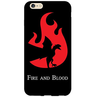 Enhance Your Phone Game Of Thrones GOT House Targaryen  Back Cover Case For Apple iPhone 6 E150143