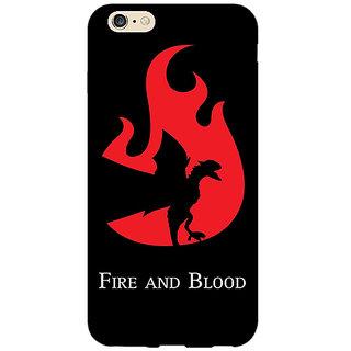 Enhance Your Phone Game Of Thrones GOT House Targaryen  Back Cover Case For Apple iPhone 6 E150143