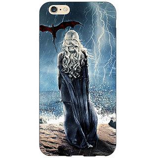 Enhance Your Phone Game Of Thrones GOT House Targaryen  Back Cover Case For Apple iPhone 6 E150147