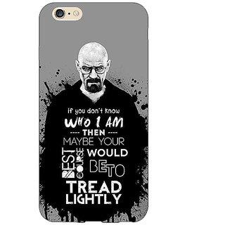 Enhance Your Phone Breaking Bad Heisenberg Back Cover Case For Apple iPhone 6 E150427
