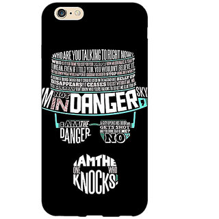 Enhance Your Phone Breaking Bad Heisenberg Back Cover Case For Apple iPhone 6 E150433