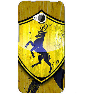 Enhance Your Phone Game Of Thrones GOT House Baratheon  Back Cover Case For HTC One M7 E190167