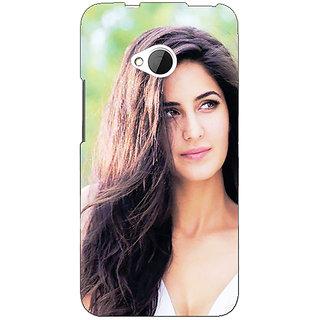 Enhance Your Phone Bollywood Superstar Katrina Kaif Back Cover Case For HTC One M7 E191023