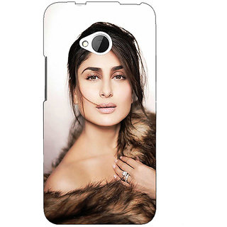 Enhance Your Phone Bollywood Superstar Kareena Kapoor Back Cover Case For HTC One M7 E191045