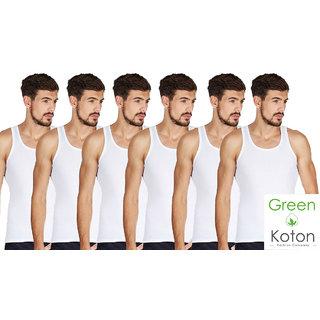 Green Koton - Maxi mens vests pack of 6