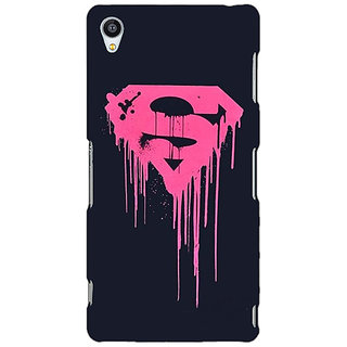 Enhance Your Phone Superheroes Superman Back Cover Case For Sony Xperia Z3 E260379
