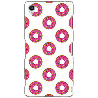 Enhance Your Phone Donut Pattern Back Cover Case For Sony Xperia Z3 E261384