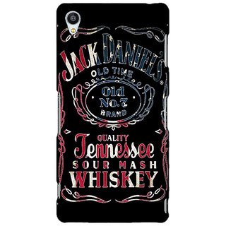 Enhance Your Phone Jack Daniels JD Whisky Back Cover Case For Sony Xperia Z3 E261223