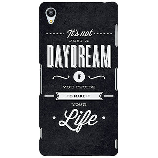 Enhance Your Phone Quote Back Cover Case For Sony Xperia Z3 E261471