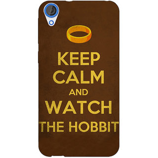 Enhance Your Phone LOTR Hobbit  Back Cover Case For HTC Desire 820 E280376