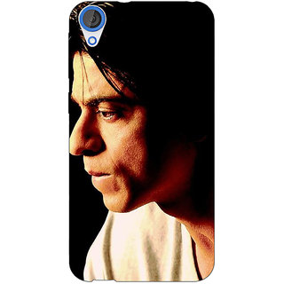 Enhance Your Phone Bollywood Superstar Shahrukh Khan Back Cover Case For HTC Desire 820 E280917