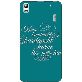 EYP Bollywood Superstar Devdas Back Cover Case For Lenovo K3 Note