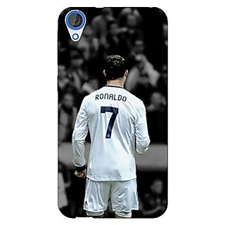Enhance Your Phone Cristiano Ronaldo Real Madrid Back Cover Case For HTC Desire 820Q E290315