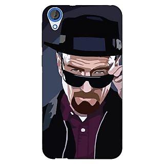 Enhance Your Phone Breaking Bad Heisenberg Back Cover Case For HTC Desire 820Q E290416