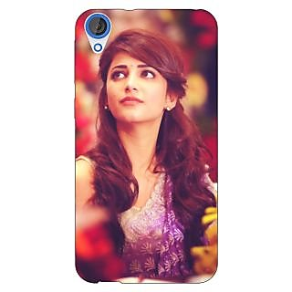 Enhance Your Phone Bollywood Superstar Shruti Hassan Back Cover Case For HTC Desire 820Q E291074