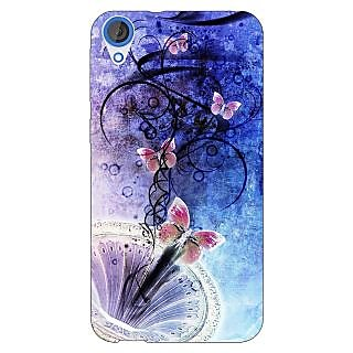 Enhance Your Phone Abstract Butter Fly Pattern Back Cover Case For HTC Desire 820 E281510