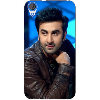 Enhance Your Phone Bollywood Superstar Ranbir Kapoor Back Cover Case For HTC Desire 820 Dual Sim E300923