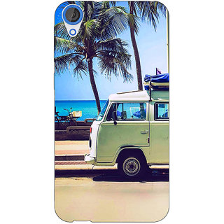 Enhance Your Phone Summer Van Back Cover Case For HTC Desire 820Q E291160