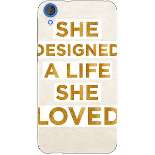 Enhance Your Phone Quotes Beautiful Back Cover Case For HTC Desire 820Q E291190