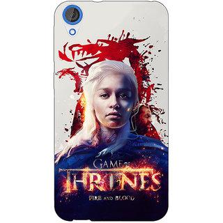 Enhance Your Phone Game Of Thrones GOT Khaleesi Daenerys Targaryen Back Cover Case For HTC Desire 820 Dual Sim E301539