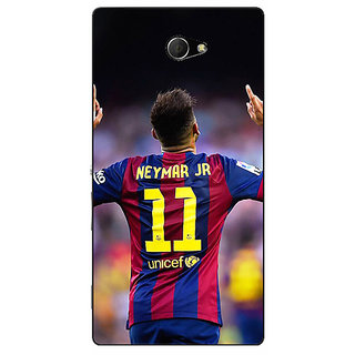Enhance Your Phone Barcelona Neymar Back Cover Case For Sony Xperia M2 Dual E320527
