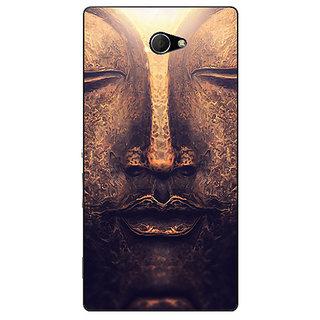 Enhance Your Phone Gautam Buddha Back Cover Case For Sony Xperia M2 E311273