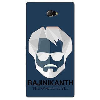 Enhance Your Phone Rajni Rajanikant Back Cover Case For Sony Xperia M2 E311482