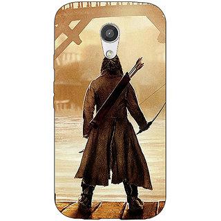 Enhance Your Phone LOTR Hobbit  Back Cover Case For Moto G (2nd Gen) E200374