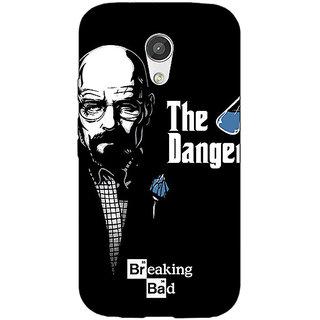 Enhance Your Phone Breaking Bad Heisenberg Back Cover Case For Moto G (2nd Gen) E200406