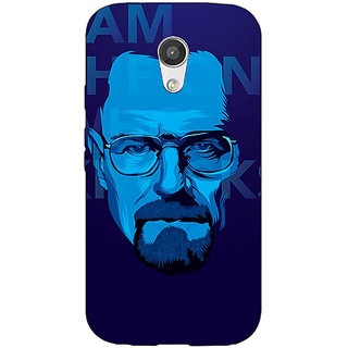 Enhance Your Phone Breaking Bad Heisenberg Back Cover Case For Moto G (2nd Gen) E200431