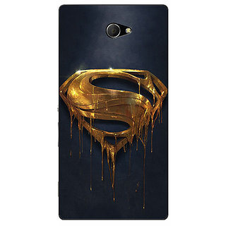 Enhance Your Phone Superheroes Superman Back Cover Case For Sony Xperia M2 Dual E320391