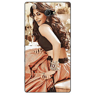 Enhance Your Phone Bollywood Superstar Chitrangada Singh Back Cover Case For Sony Xperia M2 Dual E321035