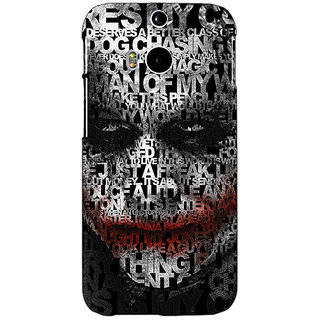 Enhance Your Phone Villain Joker Back Cover Case For HTC One M8 Eye E330047