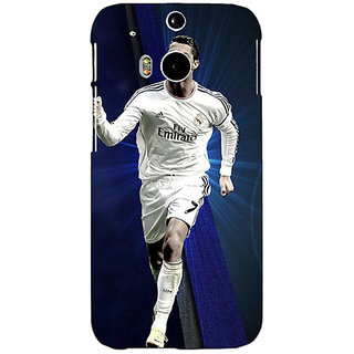 Enhance Your Phone Cristiano Ronaldo Real Madrid Back Cover Case For HTC One M8 Eye E330316