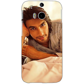 Enhance Your Phone Bollywood Superstar Ranveer Singh Back Cover Case For HTC One M8 Eye E330928