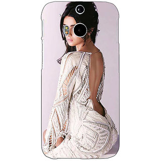 Enhance Your Phone Bollywood Superstar Alia Bhatt Back Cover Case For HTC One M8 Eye E330972