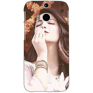 Enhance Your Phone Bollywood Superstar Shruti Hassan Back Cover Case For HTC One M8 Eye E330975