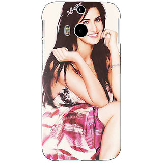 Enhance Your Phone Bollywood Superstar Katrina Kaif Back Cover Case For HTC One M8 Eye E330979