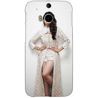Enhance Your Phone Bollywood Superstar Alia Bhatt Back Cover Case For HTC One M8 Eye E330983