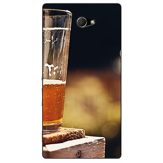 Enhance Your Phone Beer Candid Back Cover Case For Sony Xperia M2 Dual E321207