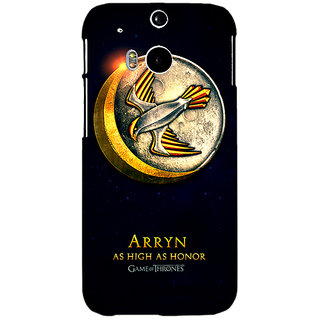 Enhance Your Phone Game Of Thrones GOT House Arryn  Back Cover Case For HTC One M8 Eye E330170