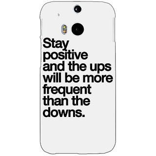 Enhance Your Phone Quotes Back Cover Case For HTC One M8 Eye E331187