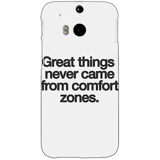 Enhance Your Phone Quotes Back Cover Case For HTC One M8 Eye E331196