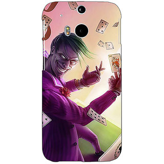 Enhance Your Phone Joker Back Cover Case For HTC One M8 Eye E331441