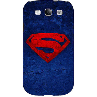 Enhance Your Phone Superheroes Superman Back Cover Case For Samsung Galaxy S3 Neo E340022
