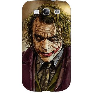 Enhance Your Phone Villain Joker Back Cover Case For Samsung Galaxy S3 Neo E340050