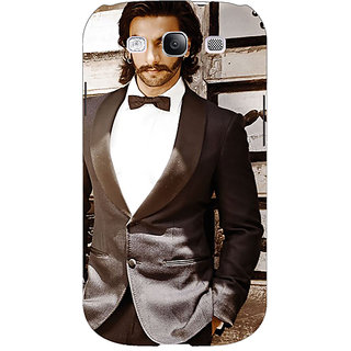 Enhance Your Phone Bollywood Superstar Ranveer Singh Back Cover Case For Samsung Galaxy S3 Neo E340909