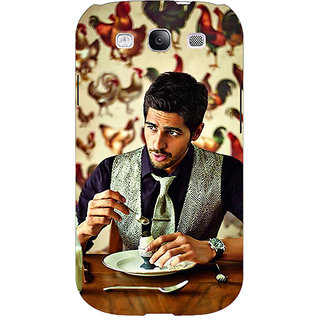 Enhance Your Phone Bollywood Superstar Siddharth Malhotra Back Cover Case For Samsung Galaxy S3 Neo E340942