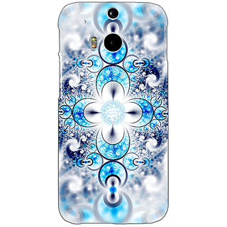Enhance Your Phone Abstract Design Pattern Back Cover Case For HTC One M8 Eye E331511