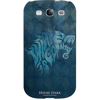 Enhance Your Phone Game Of Thrones GOT House Stark  Back Cover Case For Samsung Galaxy S3 Neo E340128